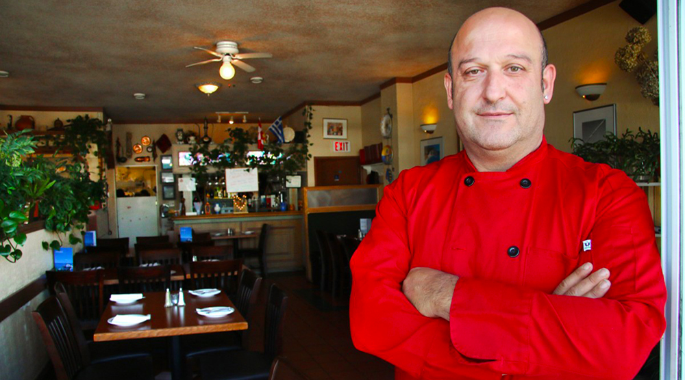 Marino is the Owner of Kisamos Taverna